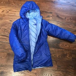 The North Face Girls Reversible Puffy Jacket